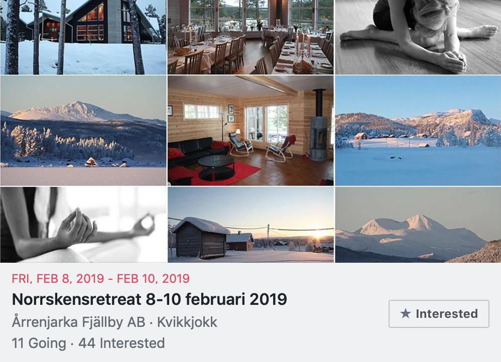 Dags för Norrskensretreat 2019!